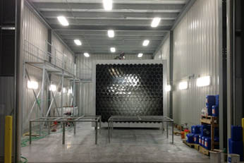 stainless steel spray pickling booth