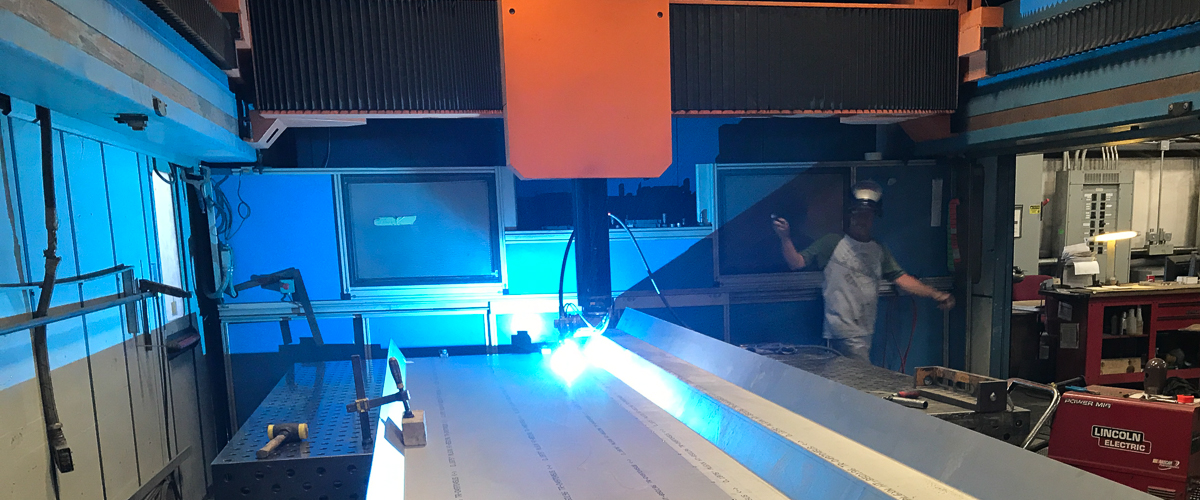 remote laser welded sheet metal